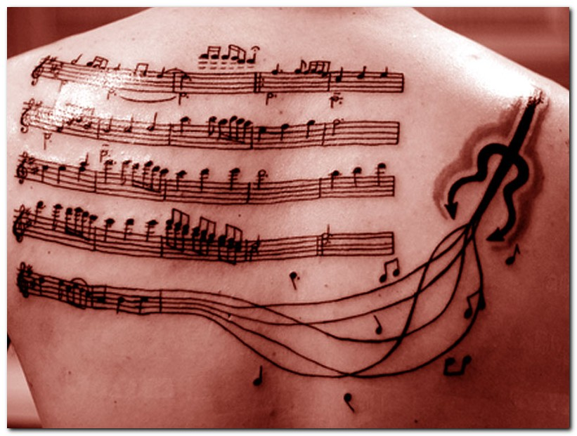 Musical Note Tattoo Design. Music-Tattoo-Designs